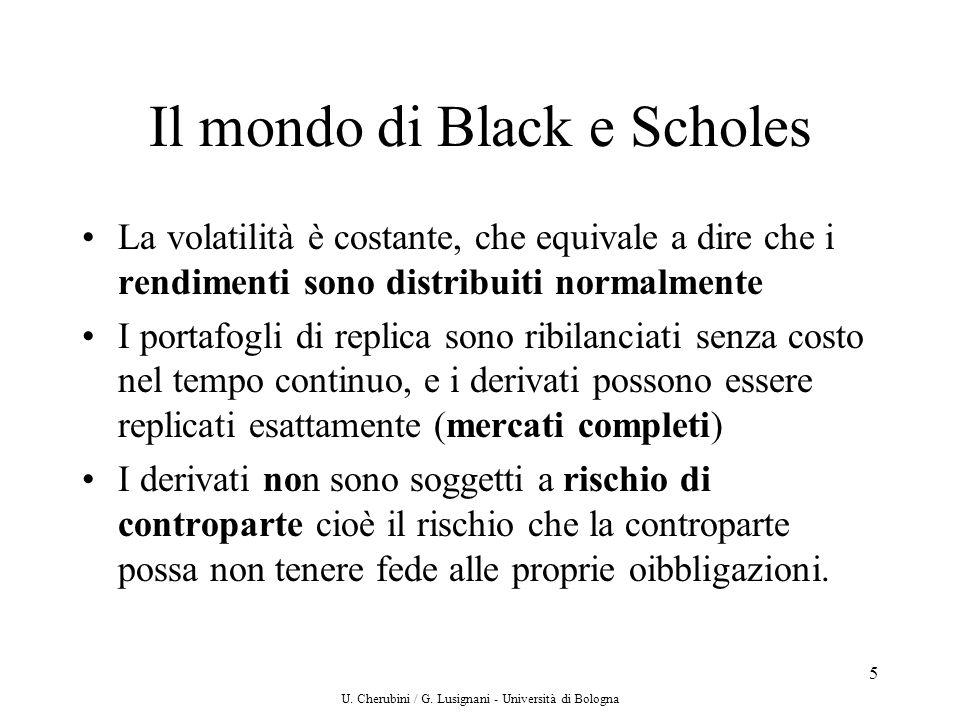 Il mondo di Black e Scholes