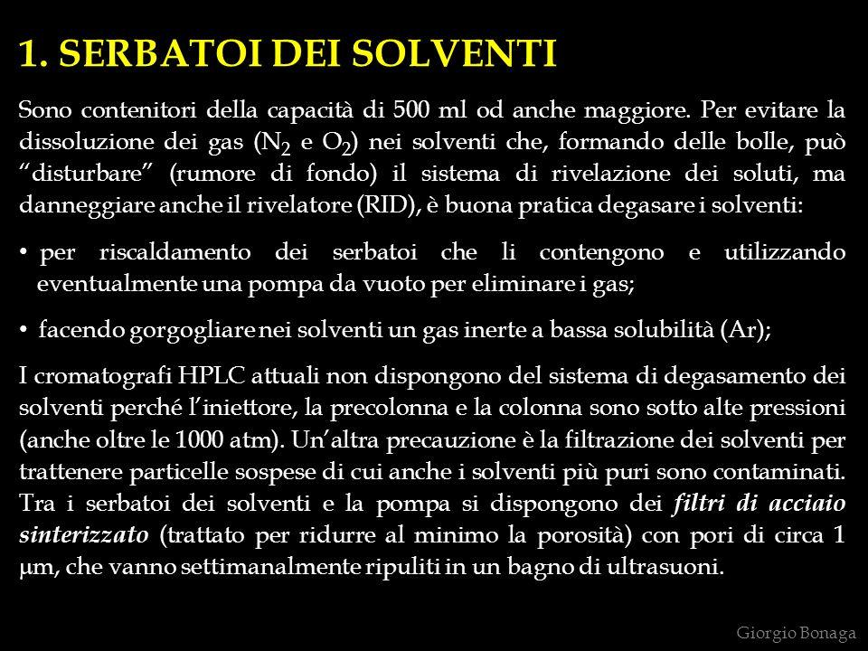 1. SERBATOI DEI SOLVENTI