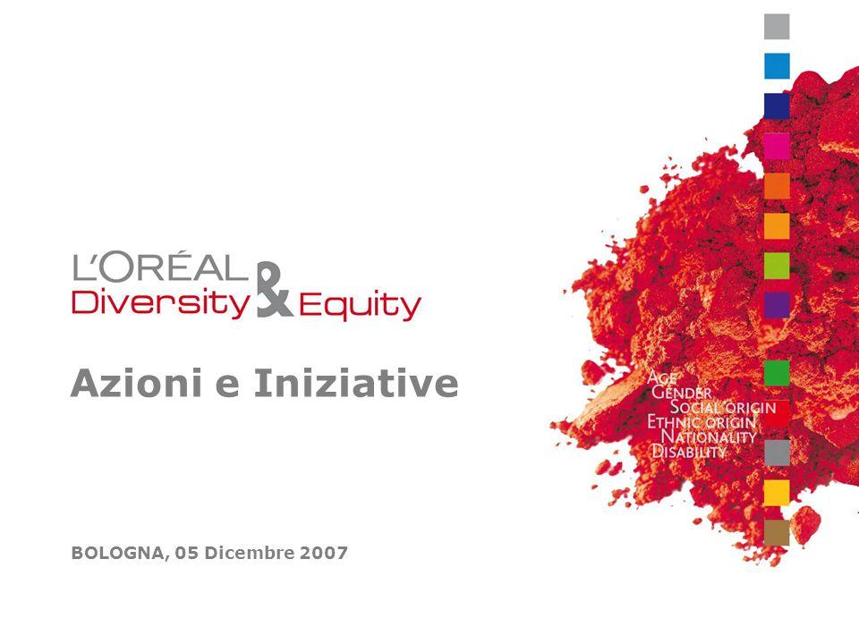 Azioni e Iniziative BOLOGNA, 05 Dicembre 2007