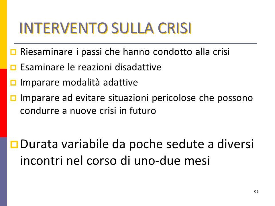 INTERVENTO SULLA CRISI