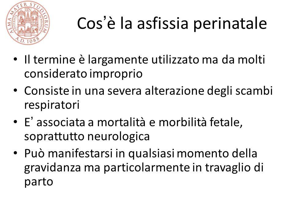 Cos'è la asfissia perinatale