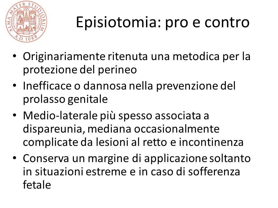 Episiotomia: pro e contro