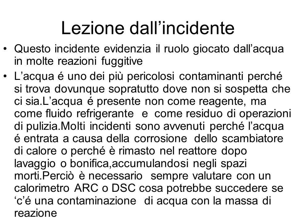 Lezione dall'incidente