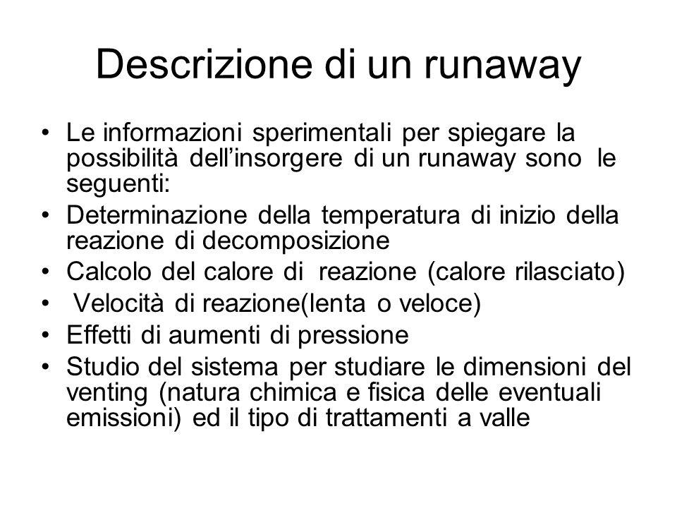 Descrizione di un runaway