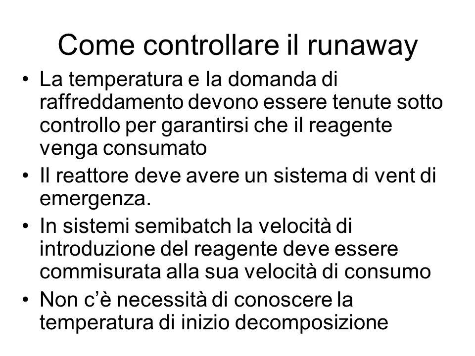 Come controllare il runaway