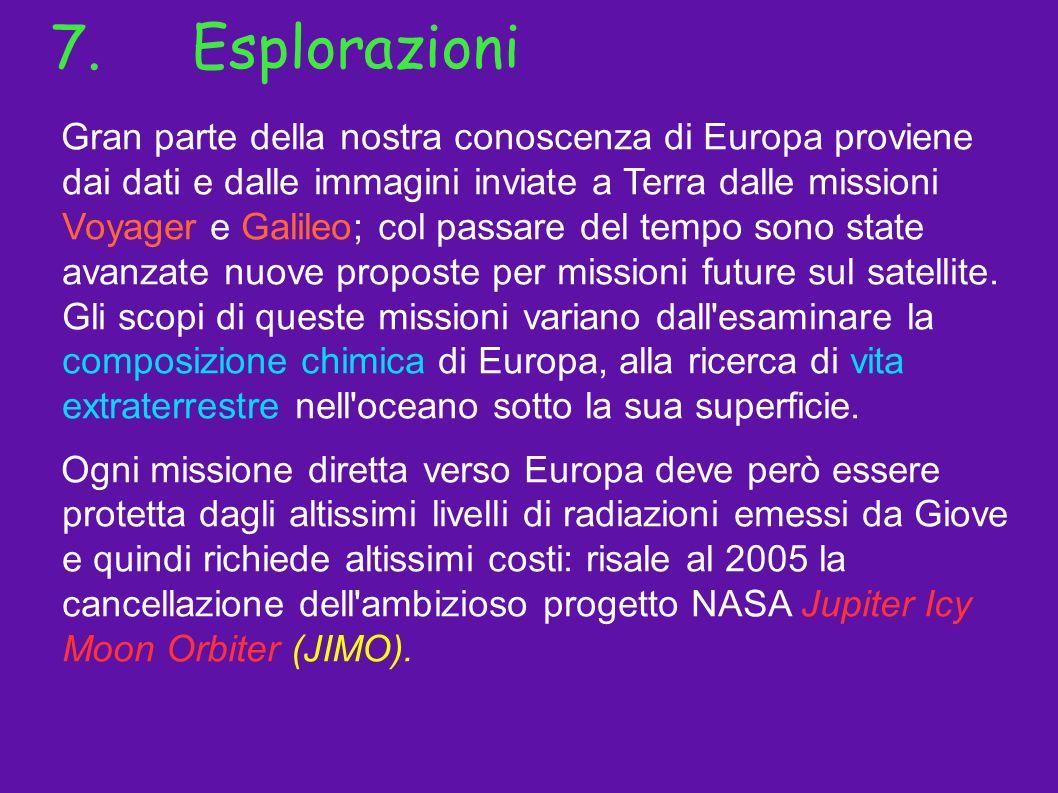 7. Esplorazioni