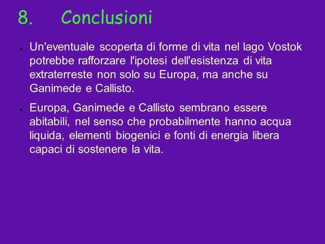 8. Conclusioni
