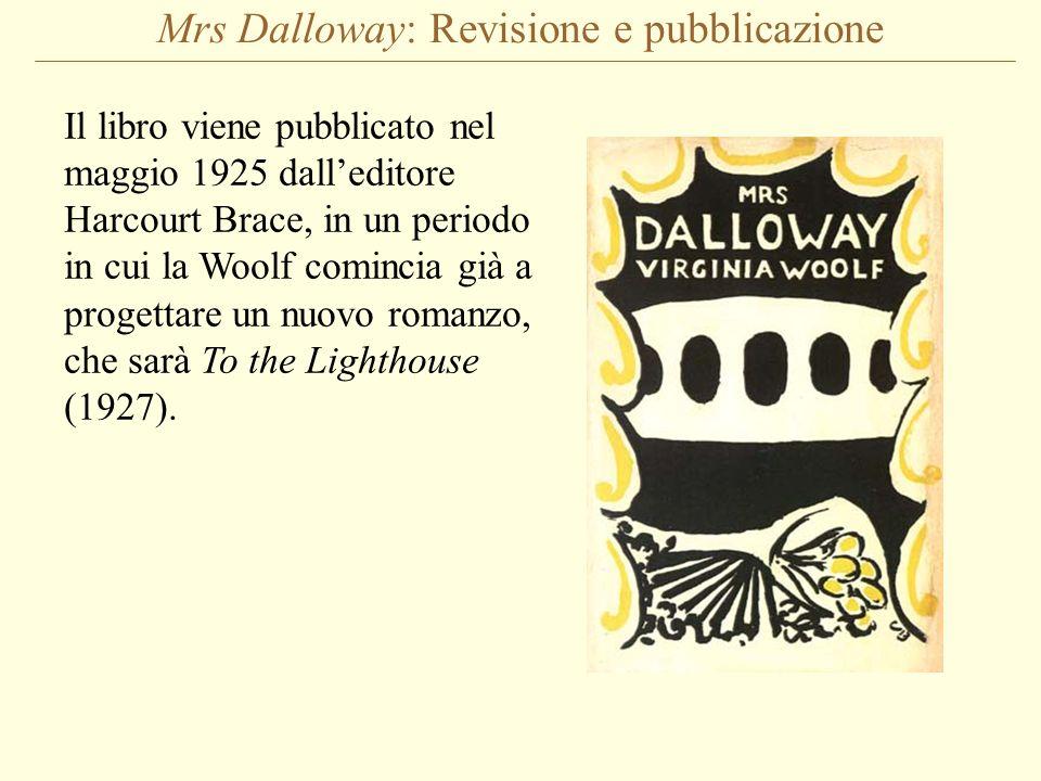 Mrs Dalloway: Revisione e pubblicazione