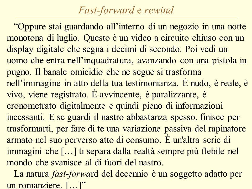 Fast-forward e rewind