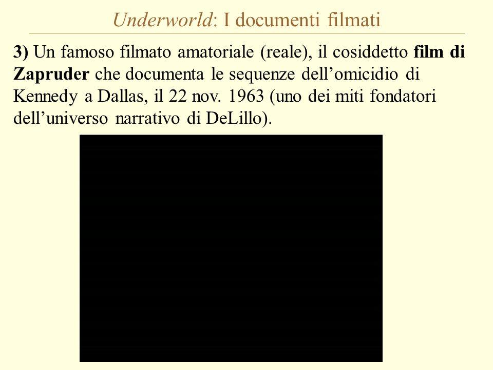 Underworld: I documenti filmati