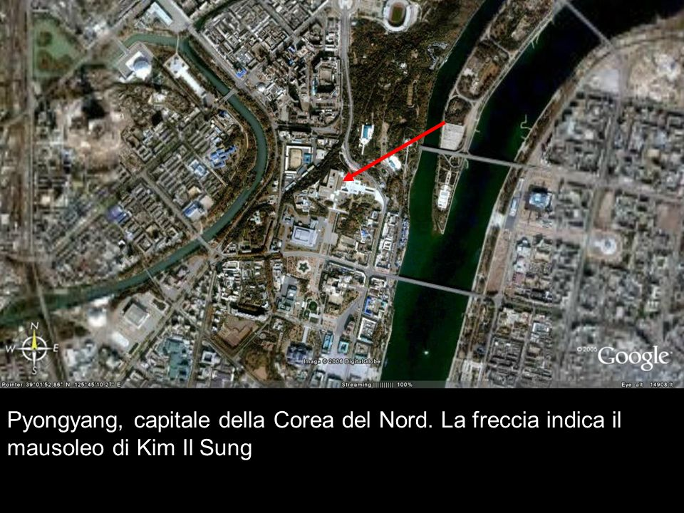Pyongyang, capitale della Corea del Nord