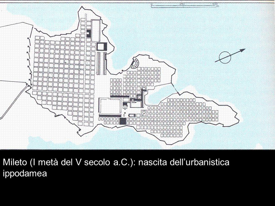 Mileto (I metà del V secolo a.C.): nascita dell'urbanistica ippodamea