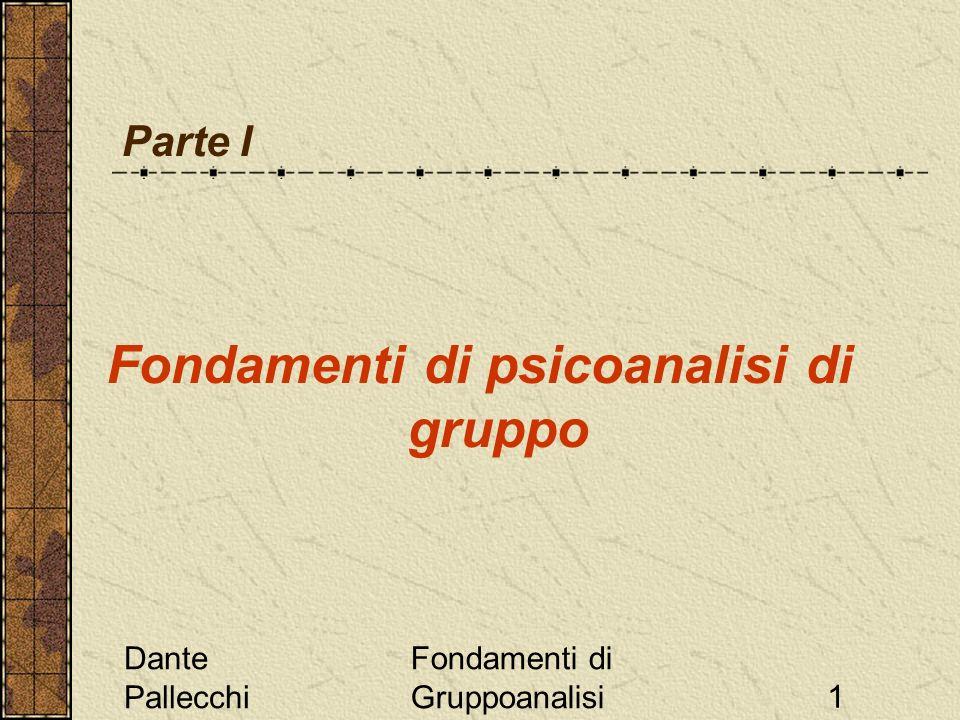 Fondamenti di psicoanalisi di gruppo