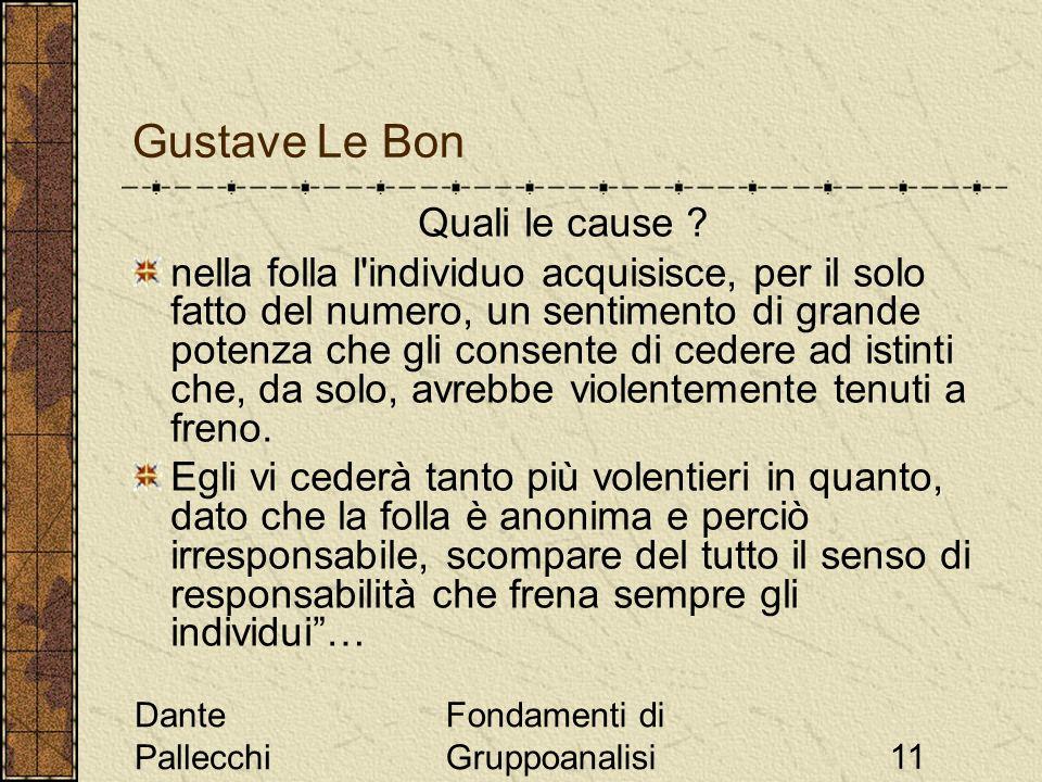 Gustave Le Bon Quali le cause
