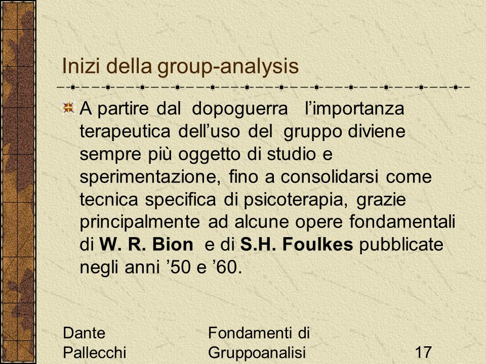 Inizi della group-analysis