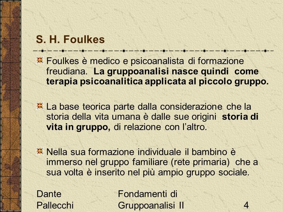 S. H. Foulkes