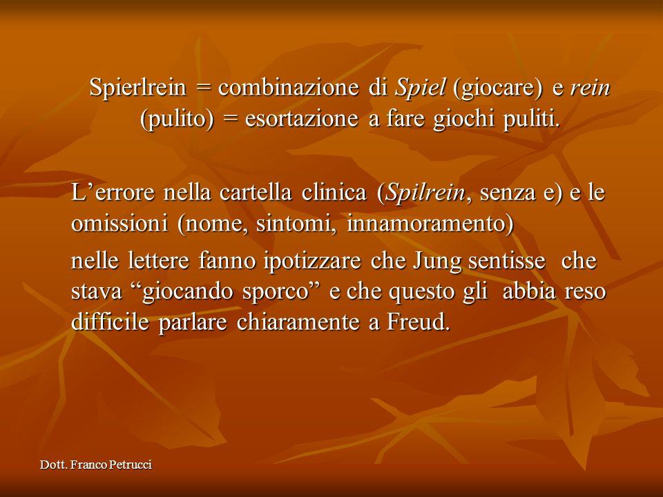 Spierlrein = combinazione di Spiel (giocare) e rein (pulito) = esortazione a fare giochi puliti.