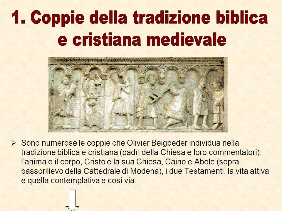 1. Coppie della tradizione biblica