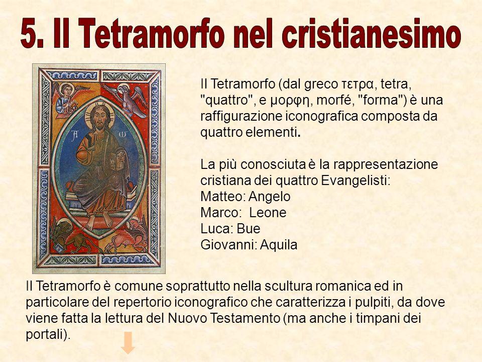 5. Il Tetramorfo nel cristianesimo