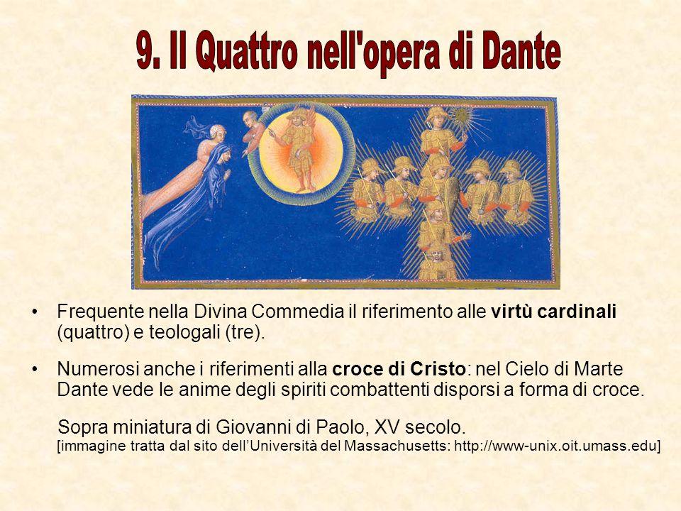 9. Il Quattro nell opera di Dante