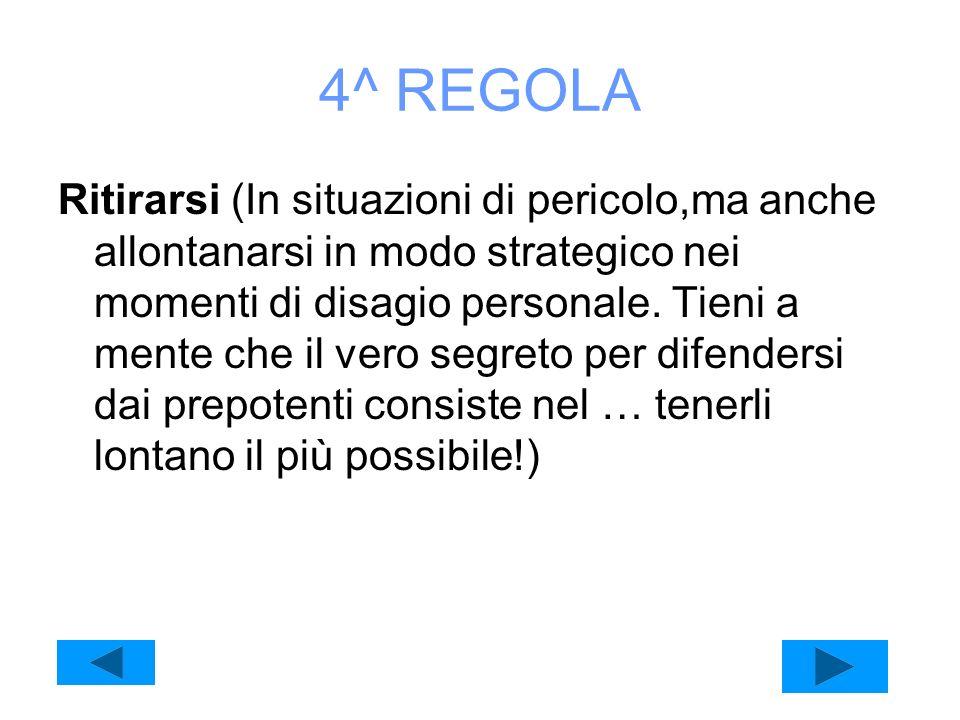 4^ REGOLA