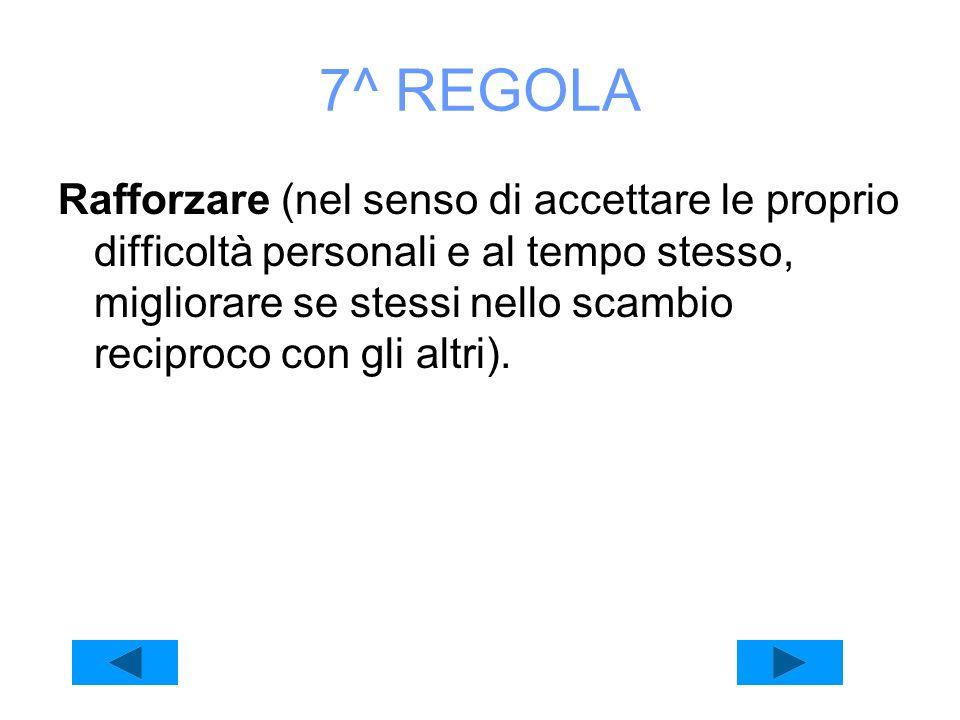 7^ REGOLA