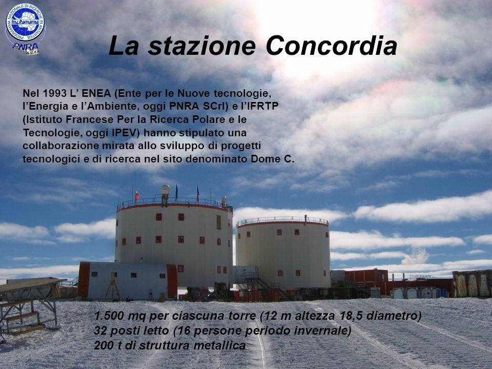 La stazione Concordia