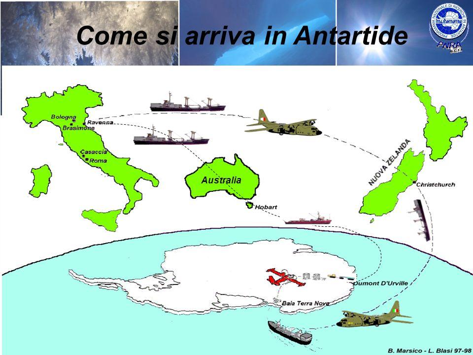 Come si arriva in Antartide