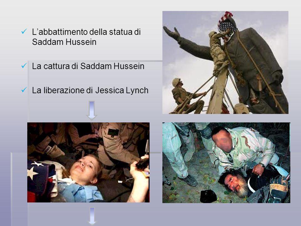 L'abbattimento della statua di Saddam Hussein