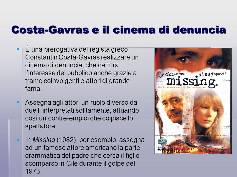 Costa-Gavras e il cinema di denuncia