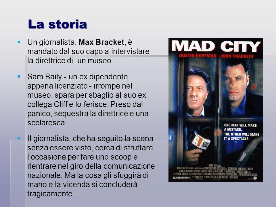 La storiaUn giornalista, Max Bracket, è mandato dal suo capo a intervistare la direttrice di un museo.