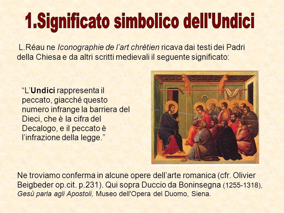 1.Significato simbolico dell Undici
