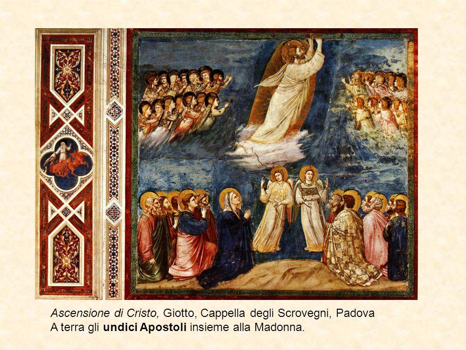 Ascensione di Cristo, Giotto, Cappella degli Scrovegni, Padova