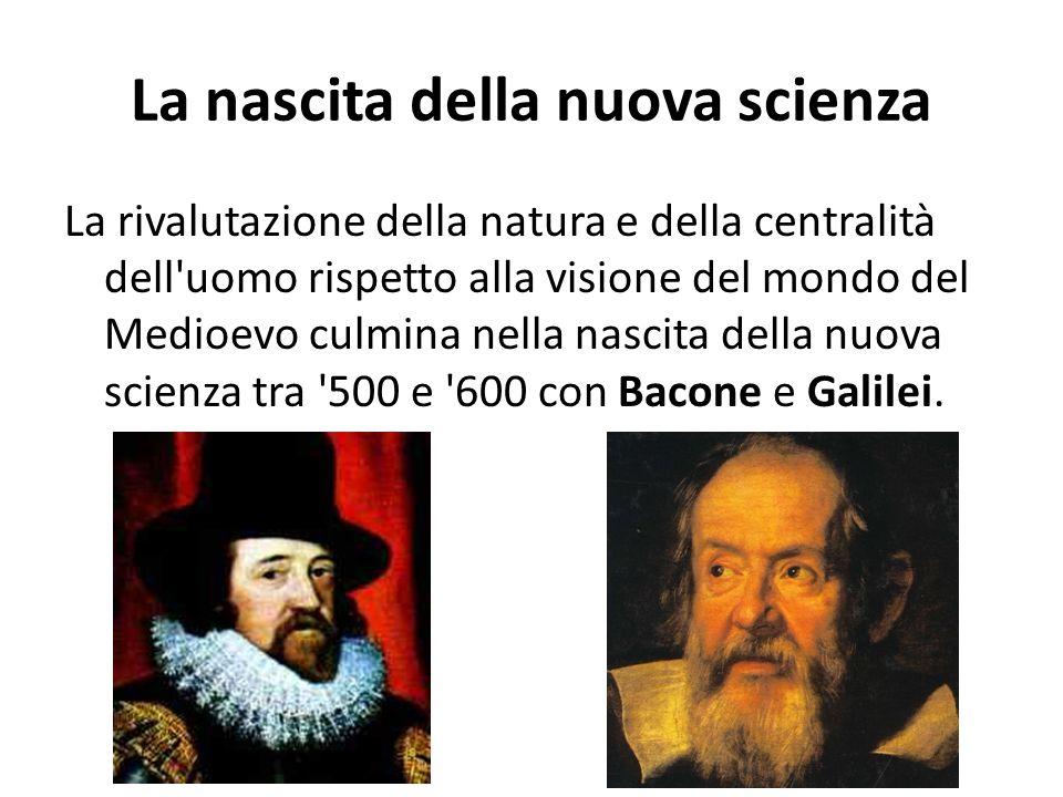 La nascita della nuova scienza