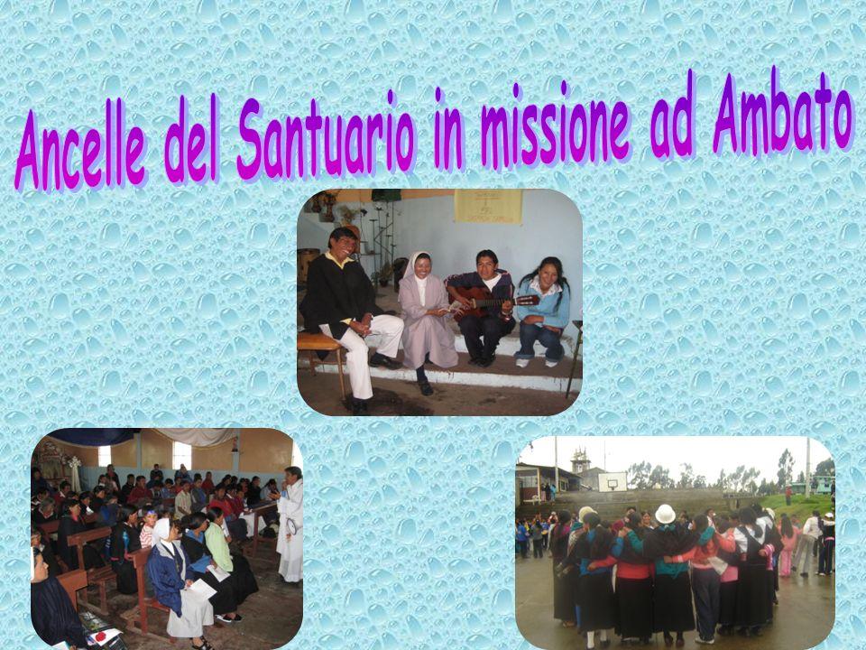 Ancelle del Santuario in missione ad Ambato