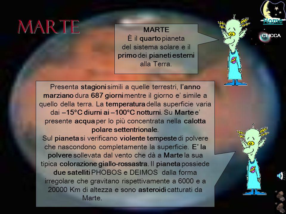 del sistema solare e il primo dei pianeti esterni alla Terra.