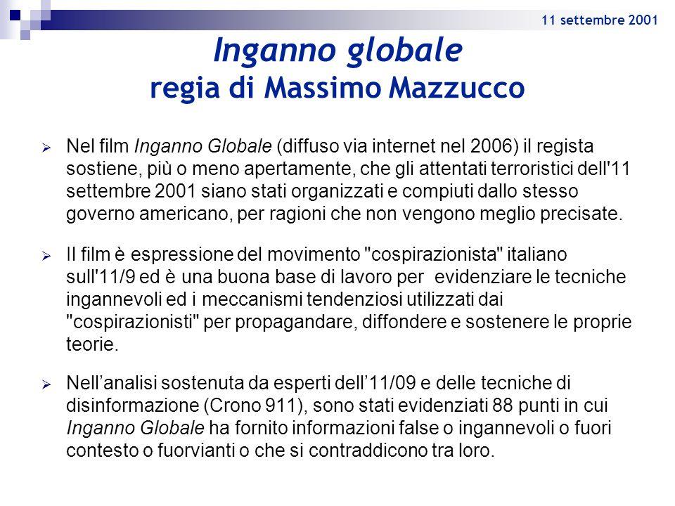 Inganno globale regia di Massimo Mazzucco