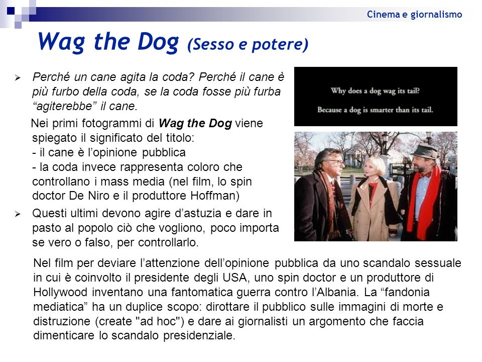 Wag the Dog (Sesso e potere)