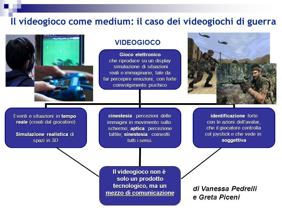Il videogioco come medium: il caso dei videogiochi di guerra