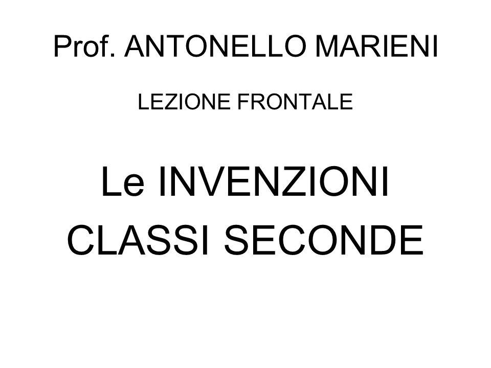 Prof. ANTONELLO MARIENI