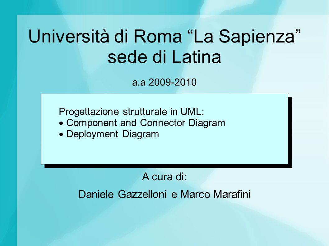 Università di Roma La Sapienza sede di Latina