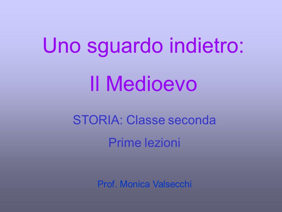 STORIA: Classe seconda