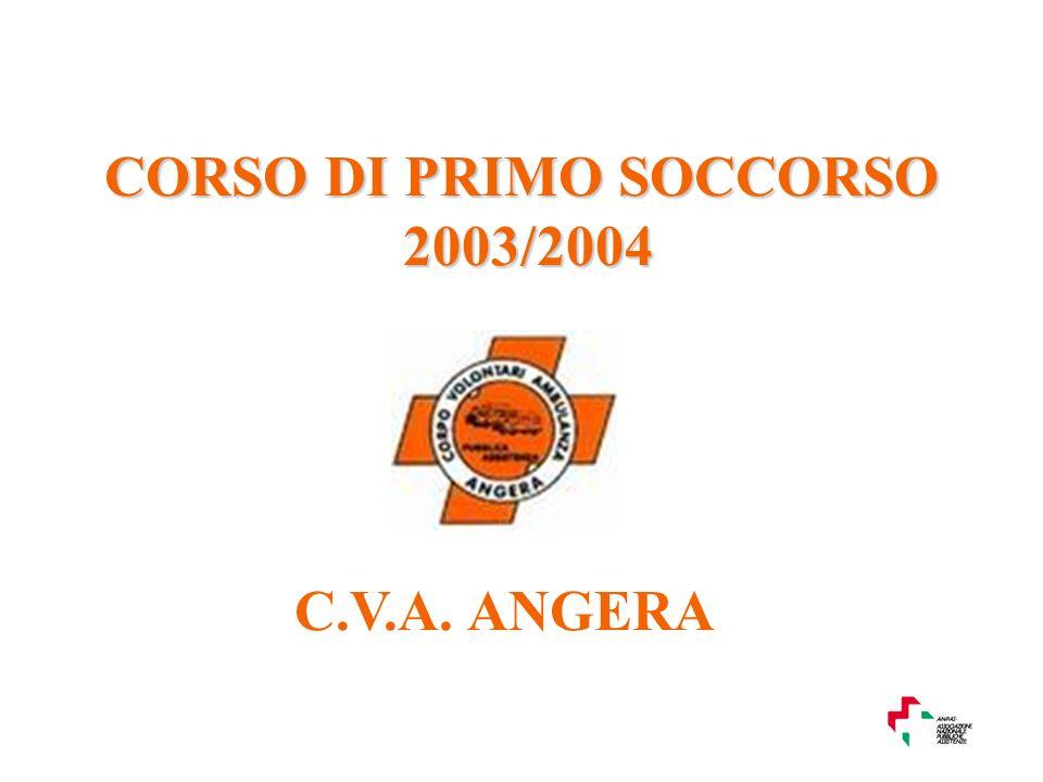 CORSO DI PRIMO SOCCORSO 2003/2004