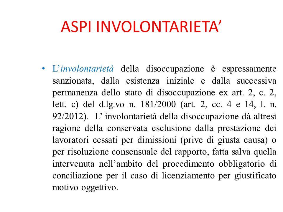ASPI INVOLONTARIETA'