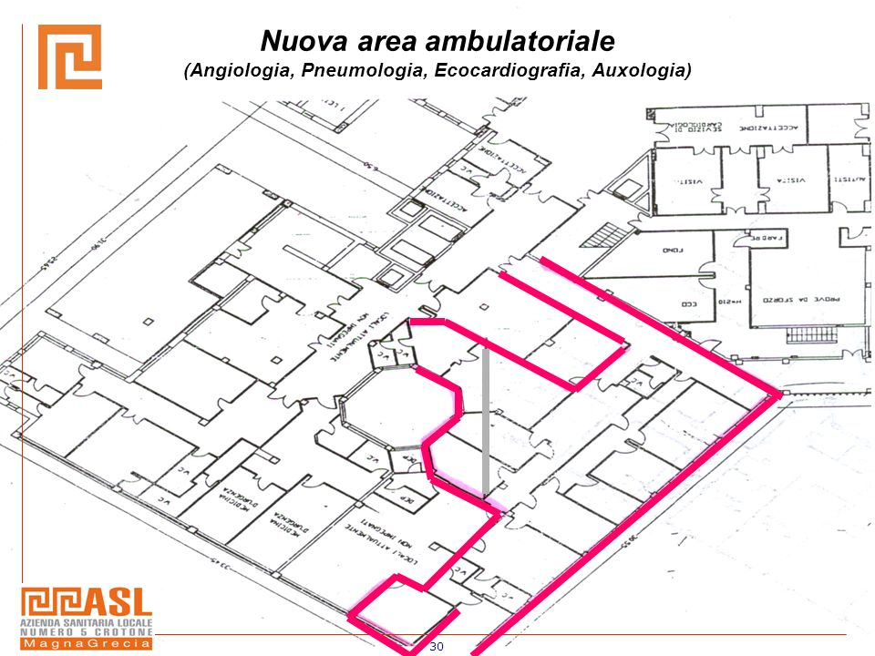 Nuova area ambulatoriale