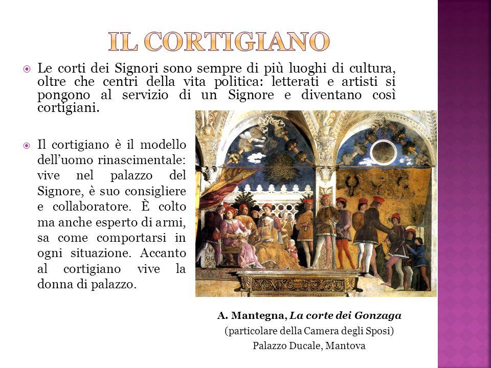 A. Mantegna, La corte dei Gonzaga
