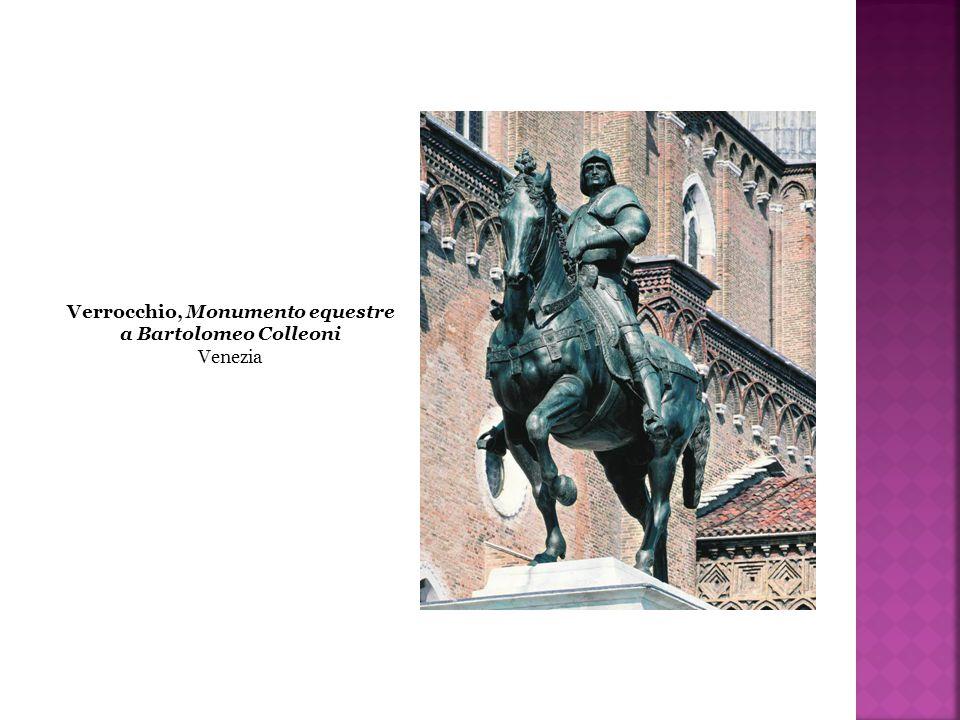 Verrocchio, Monumento equestre a Bartolomeo Colleoni