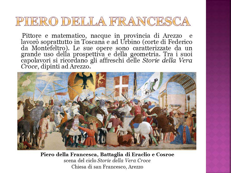Piero della Francesca, Battaglia di Eraclio e Cosroe