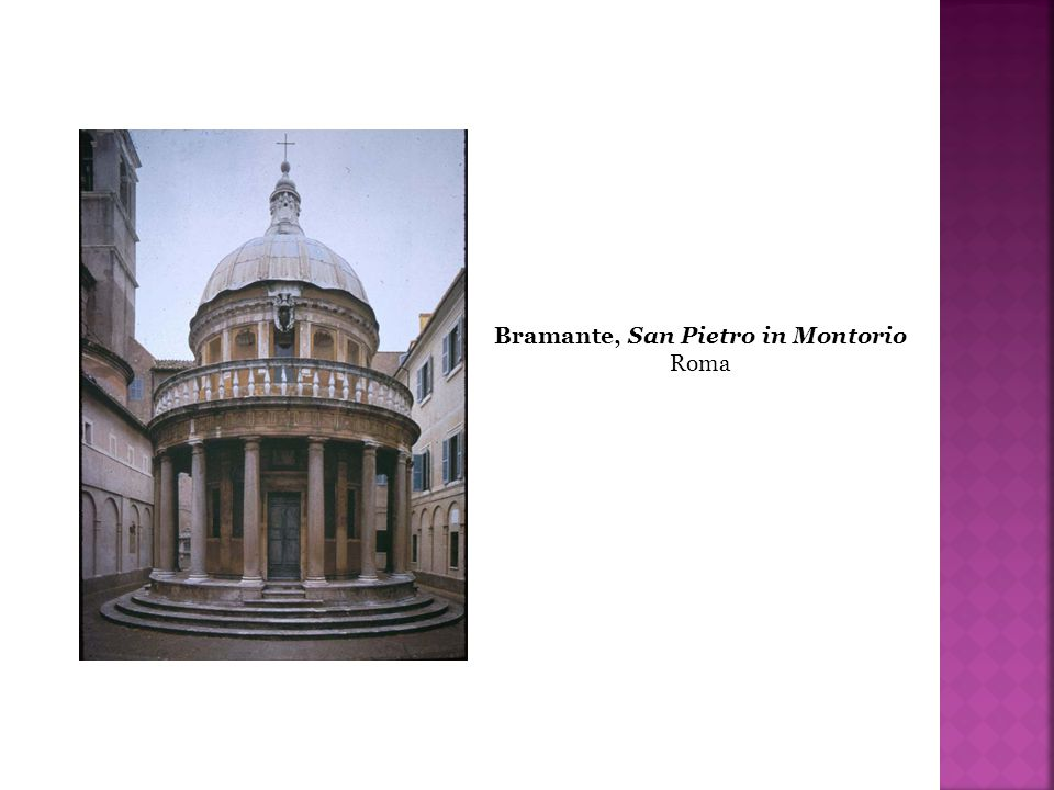 Bramante, San Pietro in Montorio
