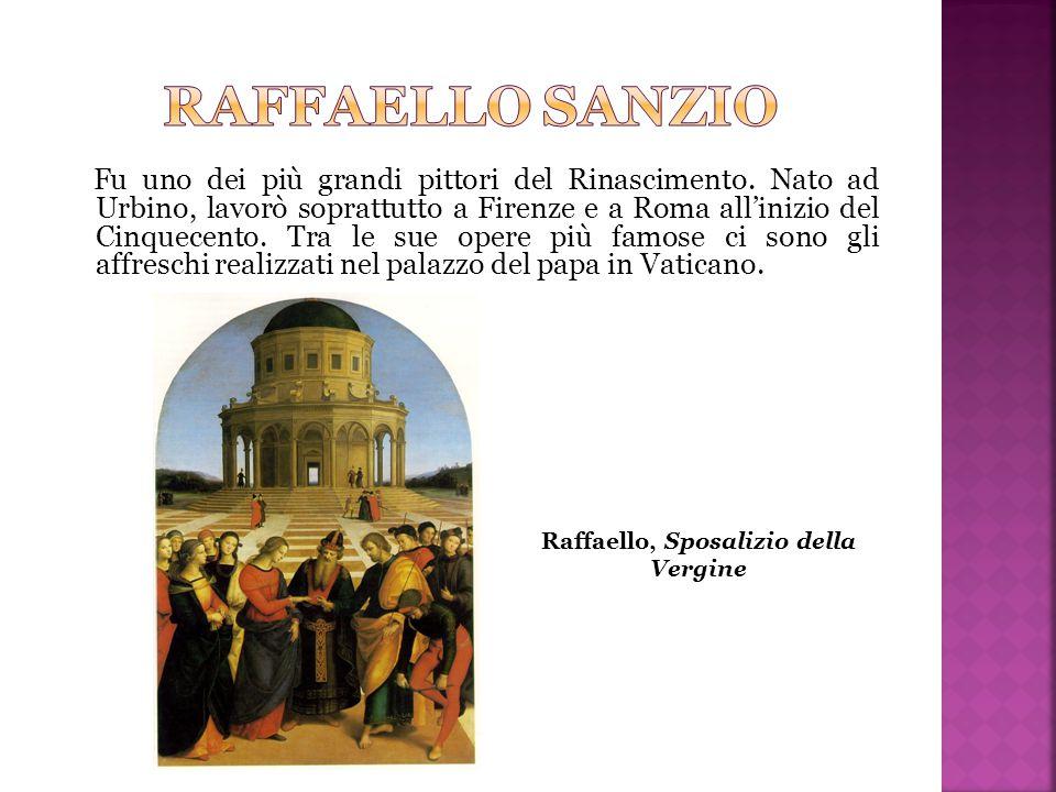Raffaello, Sposalizio della Vergine